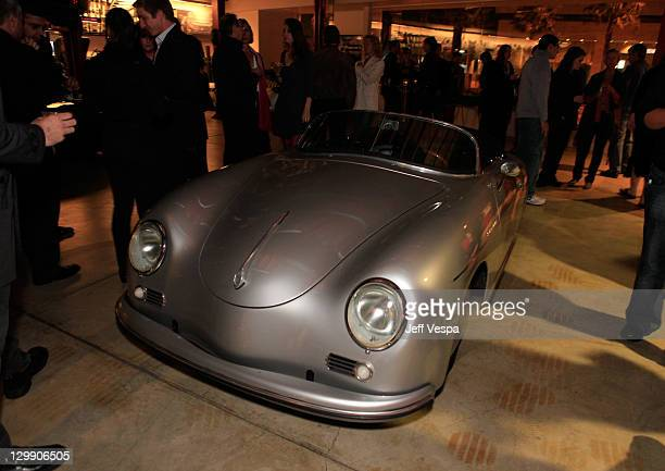 Left Coast Electric Porsche Sdster Is On Display At The Revenge Of Car