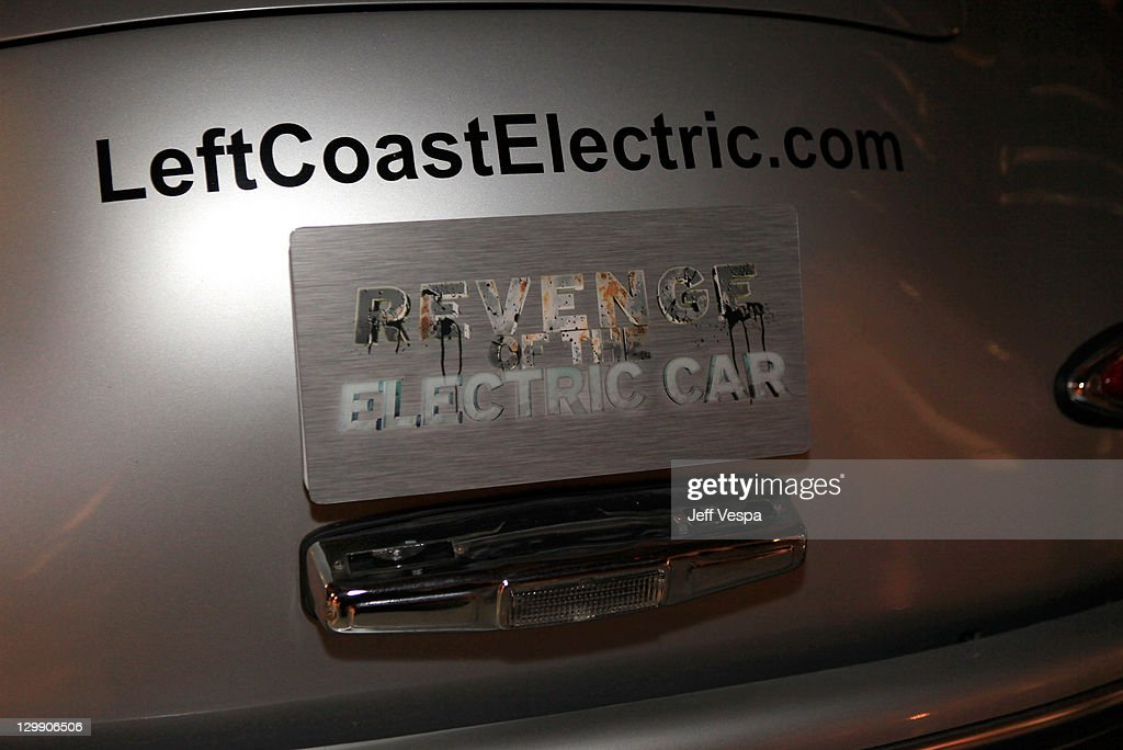 Revenge Of The Electric Car After Party News Photo