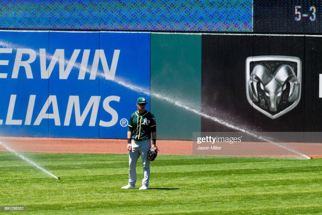 Oakland Athletics v Cleveland Indians