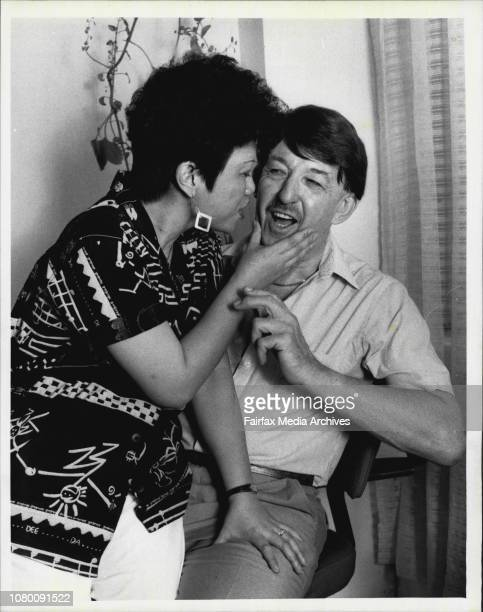 Marriage bureau owner Leslie Hardy with his wife Virginia After arranging 41 'happy marriages' in Sydney during 1985 he describes Filipino girls as...