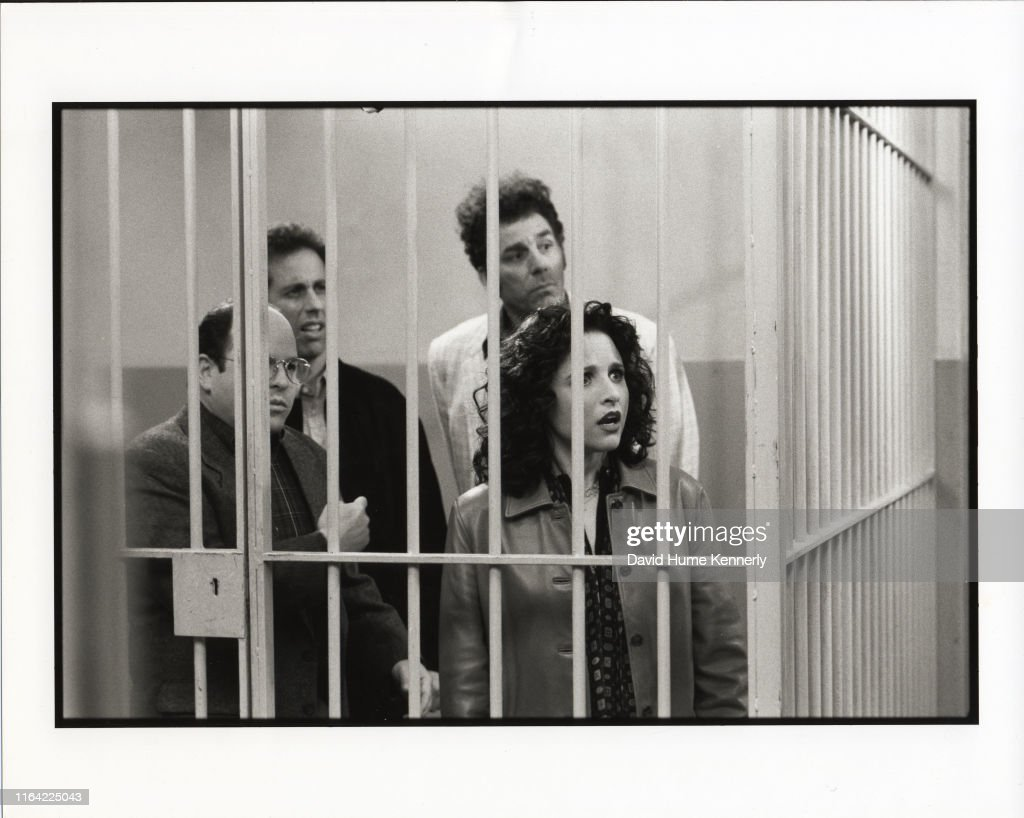 The Final Shooting Days Of Seinfeld : News Photo