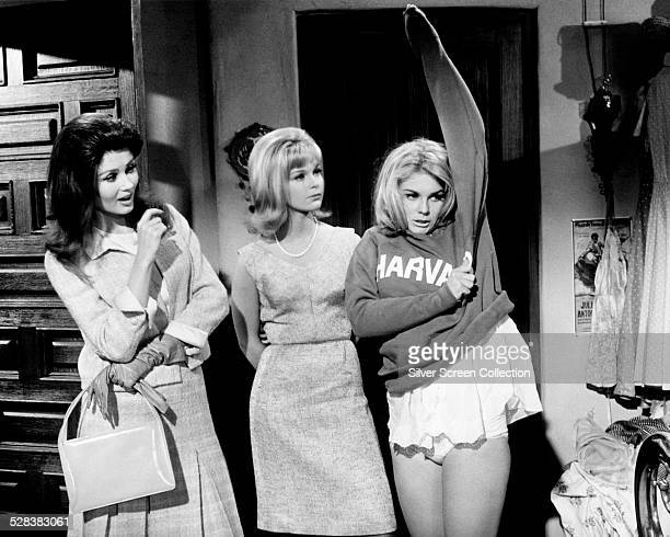 actresses Pamela Tiffin Carol Lynley and AnnMargret in 'The Pleasure Seekers' directed by Jean Negulesco 1964