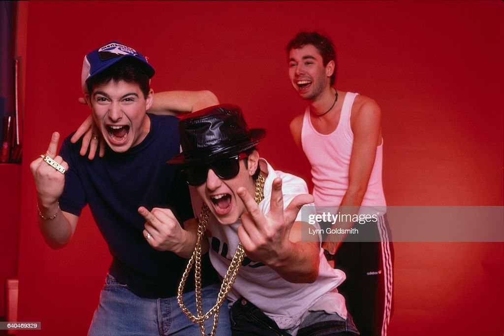 Ad-Rock, Mike D, and MCA.