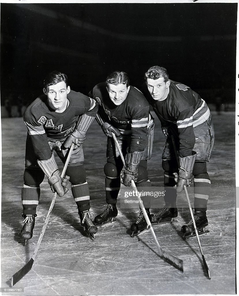 New York Rangers In Uniforms : News Photo