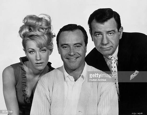 Left to right American actors Judi West Jack Lemmon and Walter Matthau pose in a promotional portrait for director Billy Wilder's film 'The Fortune...