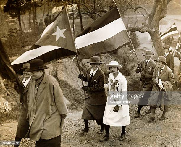 Ann Roos of USA Frau K von Hartwig of Germany Elsa Becker of USA Henerosa Fernandez of Puerto Rico Dorothy Watson Costa Rican delegate and Mrs...