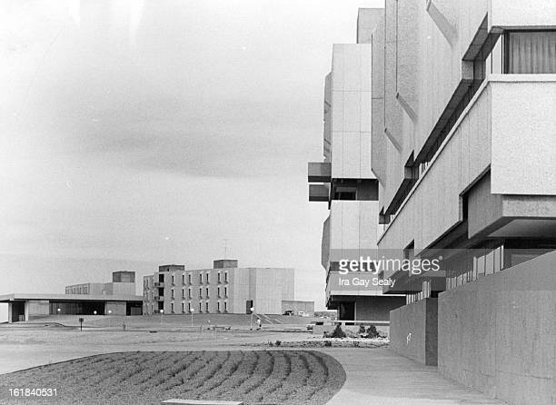 FEB 14 1966 FEB 17 1966 Left To Right Are New Southern Colorado State College Dormitory Complex LibraryClassroom Building And Chemistry Building In...