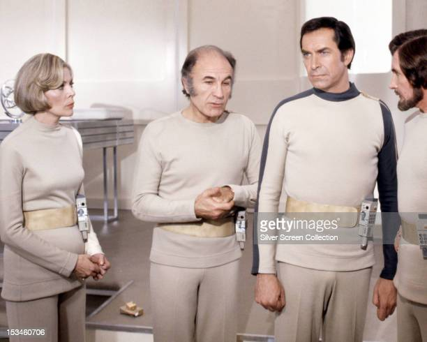 Barbara Bain as Doctor Helena Russell Barry Morse as Professor Victor Bergman Martin Landau as Commander John Koenig and Roy Dotrice as Commissioner...