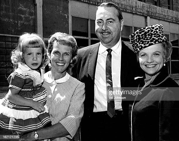 MAY 27 1963 5281963 Left to Right Bianna Costo Mrs Walter Koelbel Maureen Arthur Willard Waterman