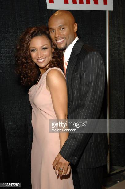 Chante' Moore with Husband Kenny Lattimore