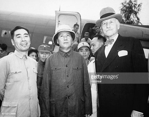 Chou EnLai Mao TseTung and Patrick J Hurley Chou EnLai was prime minister of the Chinese People's Republic from its beginning in 1949 until his death...