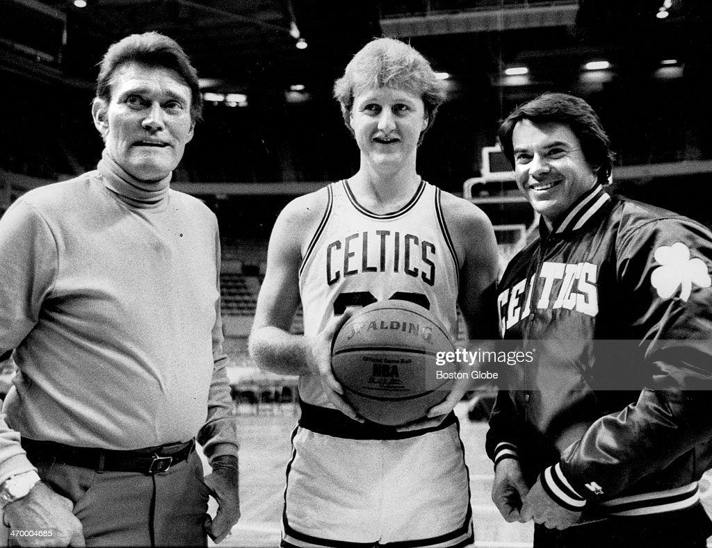 Chuck Connors, Larry Bird And Robert Urich : News Photo
