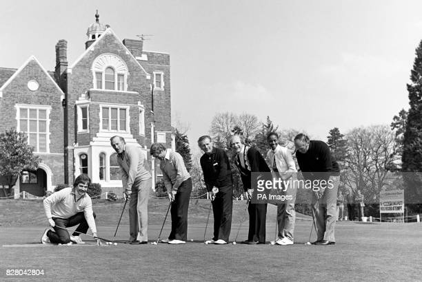 Cliff Thorburn Bruce Forsyth Gerry Stevens Tommie Campbell Roger De Coucy Grace Kennedy and Henry Cooper