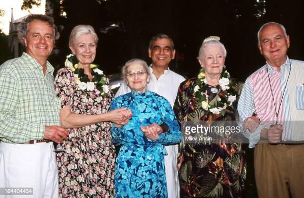 composer Richard Robbins actress Vanessa Redgrave novelist and screenwriter Ruth Prawer Jhabvala producer Ismail Merchant actress Rachel Kempson and...