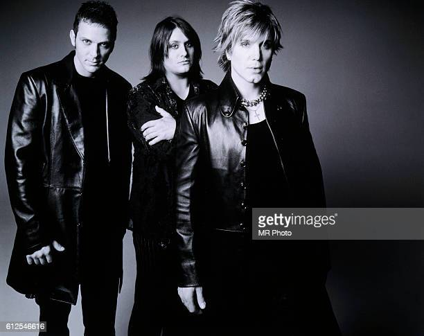 Drummer Mike Malinin bassist Robby Takac and guitarist and vocalist Johnny Rzeznik