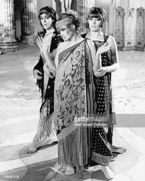 Eleanor Bron as Hermione Roddice Jennie Linden as Ursula Brangwen and Glenda Jackson as Gudrun Brangwen in 'Women in Love' directed by Ken Russell...