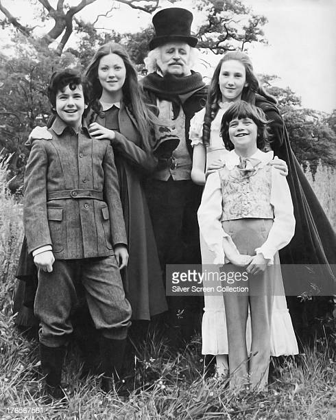 Left to right Garry Miller as Jamie Allen Lynne Frederick as Lucy Allen Laurence Naismith as Mr Blunden Rosalyn Landor as Sara Latimer and Marc...