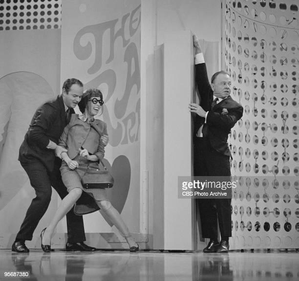 Harvey Korman, Carol Burnett and guest star Mickey Rooney on THE CAROL BURNETT SHOW, December 2, 1967.