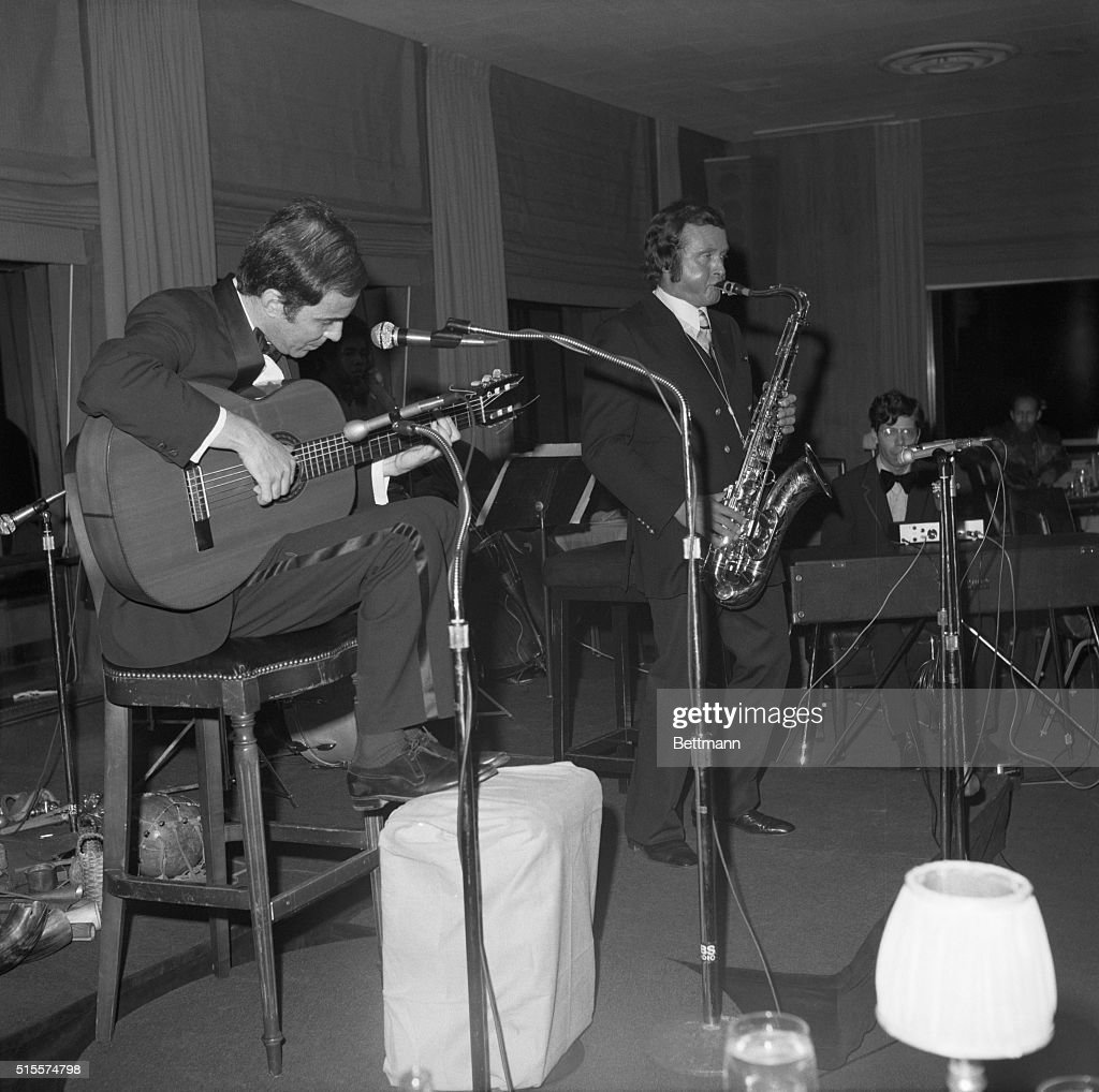 Joao Gilberto And Stan Getz, Musicians : News Photo