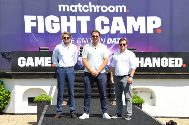 GBR: Matchroom Fight Camp Launch Event