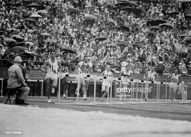 Left to right, Juan Carlos Dyrzka of Argentina,Samir Vincent of Iraq, Rex Cawley of the United States, Peter Warden of Great Britain, Joachim Singer...