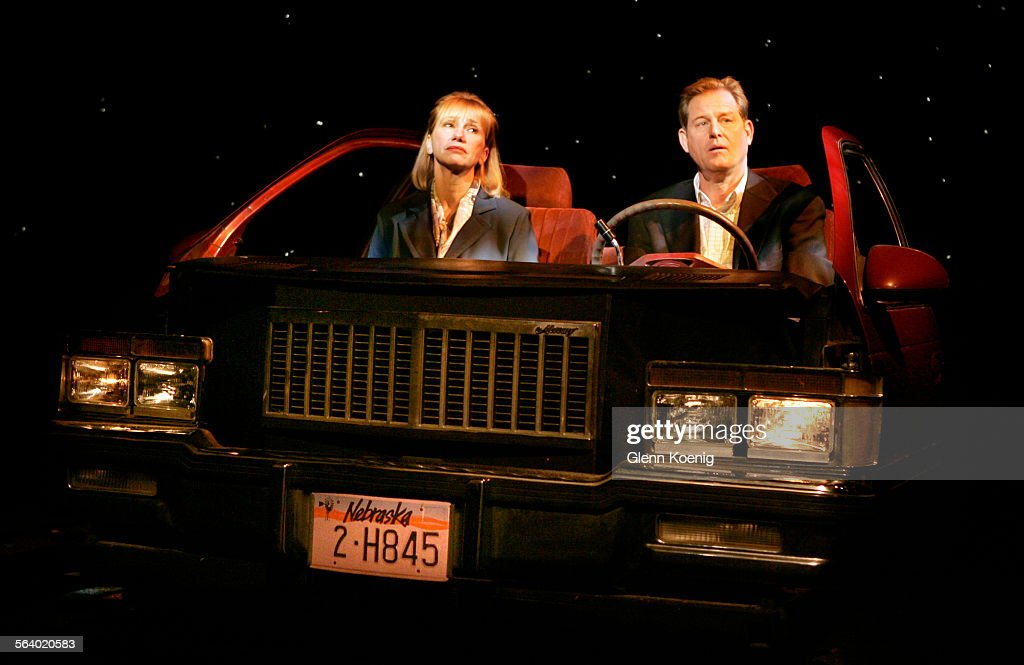 Left To Right, Kathy Baker And Brian Kerwin, During A