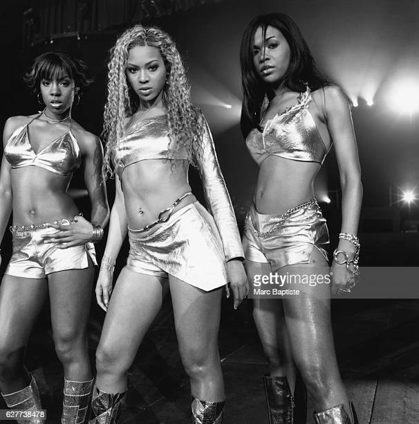 Kelly Rowland Beyonce Knowles and Michelle Williams