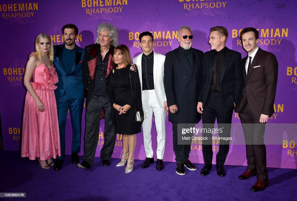Bohemian Rhapsody World Premiere - London : News Photo