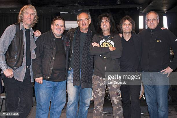Neal Smith Michael Bruce Shep Gordon Alice Cooper Dennis Dunaway Bob Ezrin The remaining original members of the Alice Cooper Group along with their...