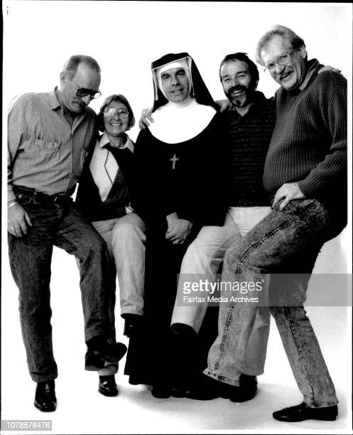 Left to right Peter BonsallBoone Sue Wills Fabian LoSchiavo Peter de Waal and Robert Walmsley Collective picture of 5 people who were in the...
