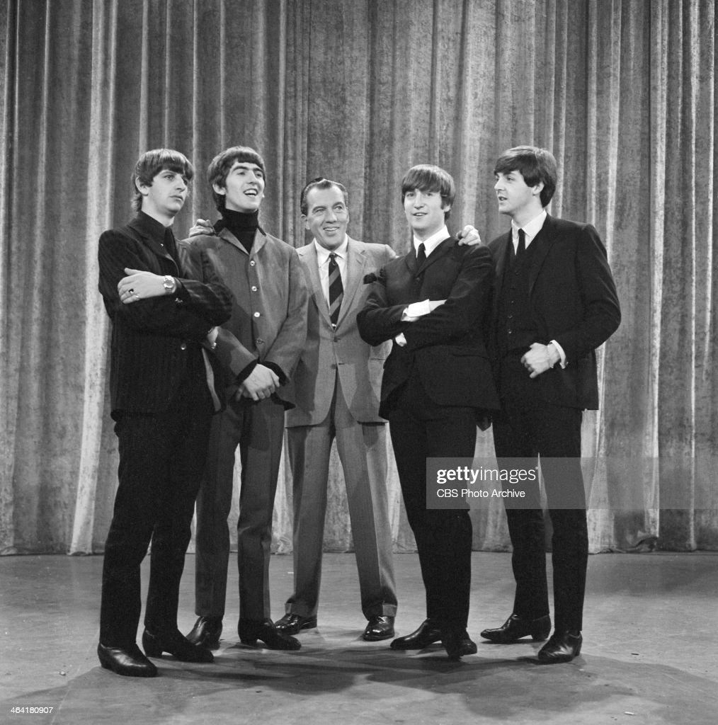 Beatles On Ed Sullivan Show : News Photo