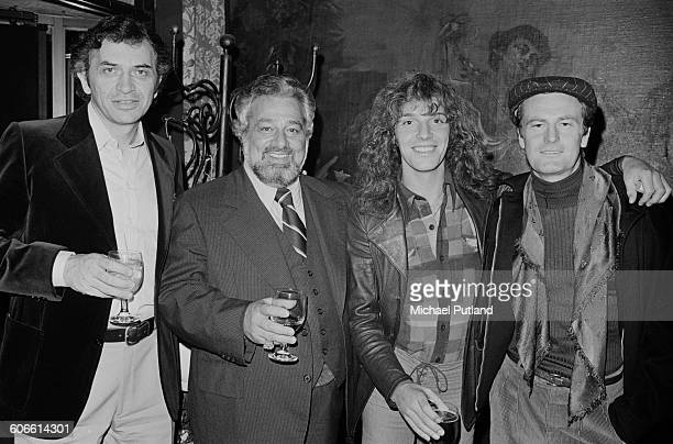 rock concert promoter Bill Graham music manager Dee Anthony English singer and guitarist Peter Frampton and Australian singersongwriter Peter Allen...