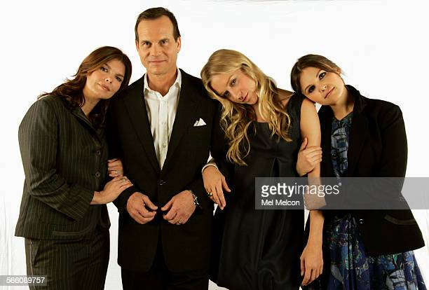 Left to right–Jeanne Tripplehorn Bill Paxton Chloe Sevigny and Ginnifer Goodwin the four principle actors from HBO's Big Love a show about a...