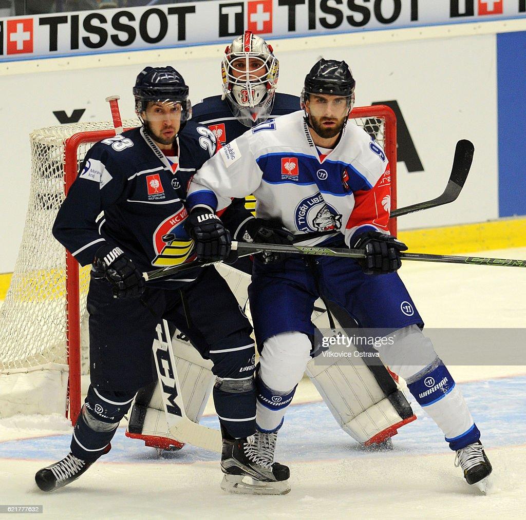 CZE: Vitkovice Ridera Ostrava v Bili Tygri Liberec - Champions Hockey League