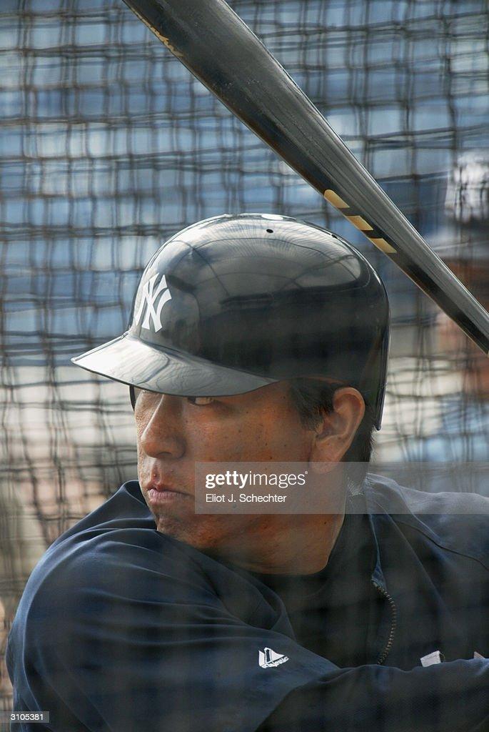 Blue Jays v Yankees : News Photo