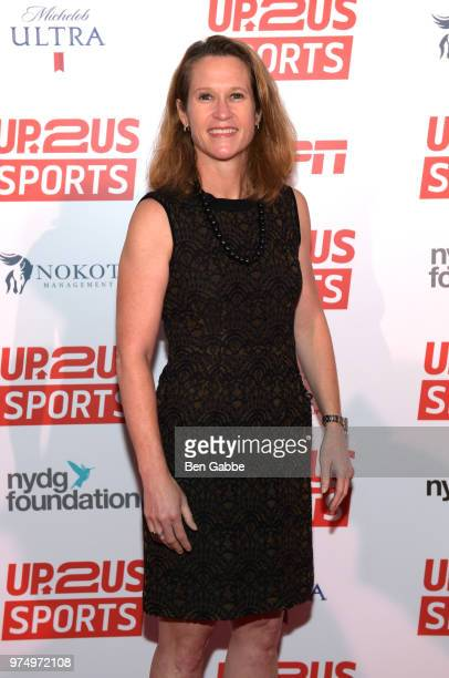 Legacy Award Winner attends the Kathy Carter 2018 Up2Us Sports Gala celebrating Service Through Sports at Guastavino's on June 14 2018 in New York...