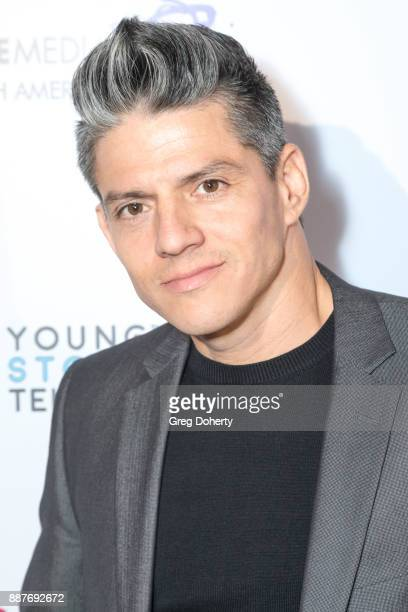 Legacy Perez attends The Junior Hollywood Radio Television Society's 15th Annual Holiday Party at Le Jardin on December 6 2017 in Hollywood California