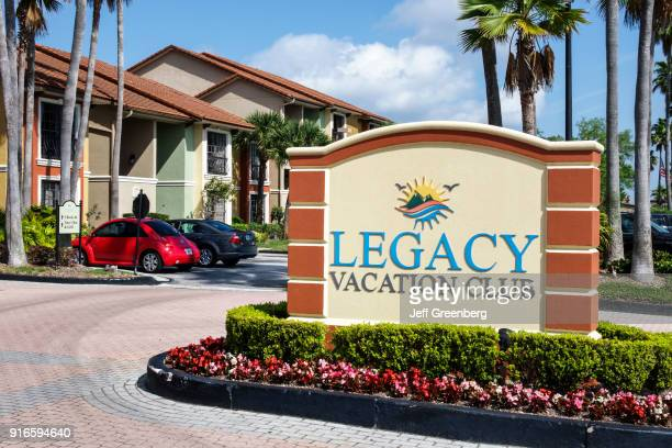 Legacy Vacation Club entrance sign