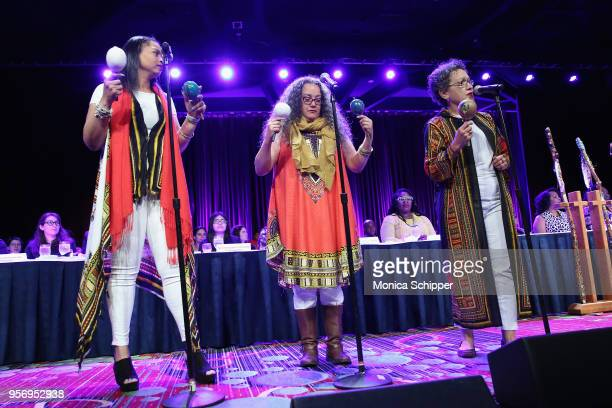 Legacy Women performs onstage during the New York Women's Foundation's 2018 'Celebrating Women' breakfast on May 10 2018 in New York City