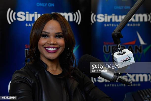 Legal analyst former prosecutor and bestselling author Laura Coates launches show on SiriusXM at SiriusXM Studio on May 8 2017 in Washington DC