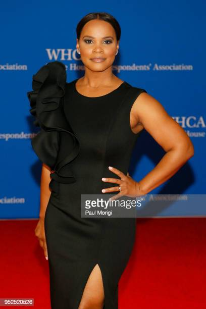 Legal analyst Laura Coates attends the 2018 White House Correspondents' Dinner at Washington Hilton on April 28 2018 in Washington DC
