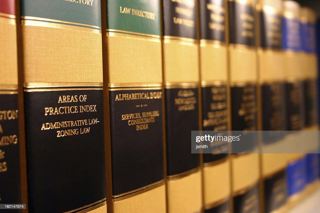 Legal Books : Stock Photo