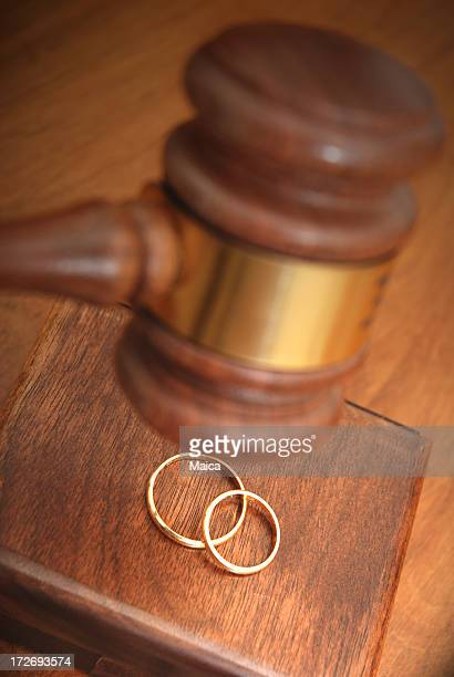 Legal marriage concept