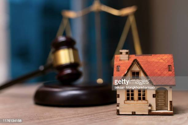 legal protection insurance home buying or auction or selling - auction stock pictures, royalty-free photos & images