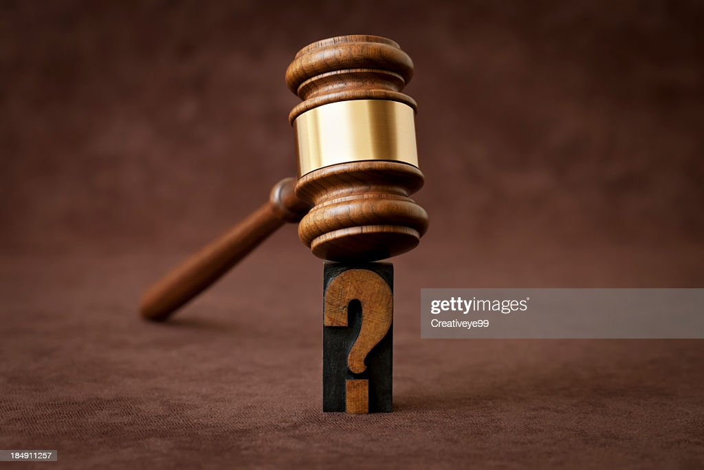 Legal questions : Stock Photo