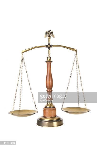Rechtliche Waage