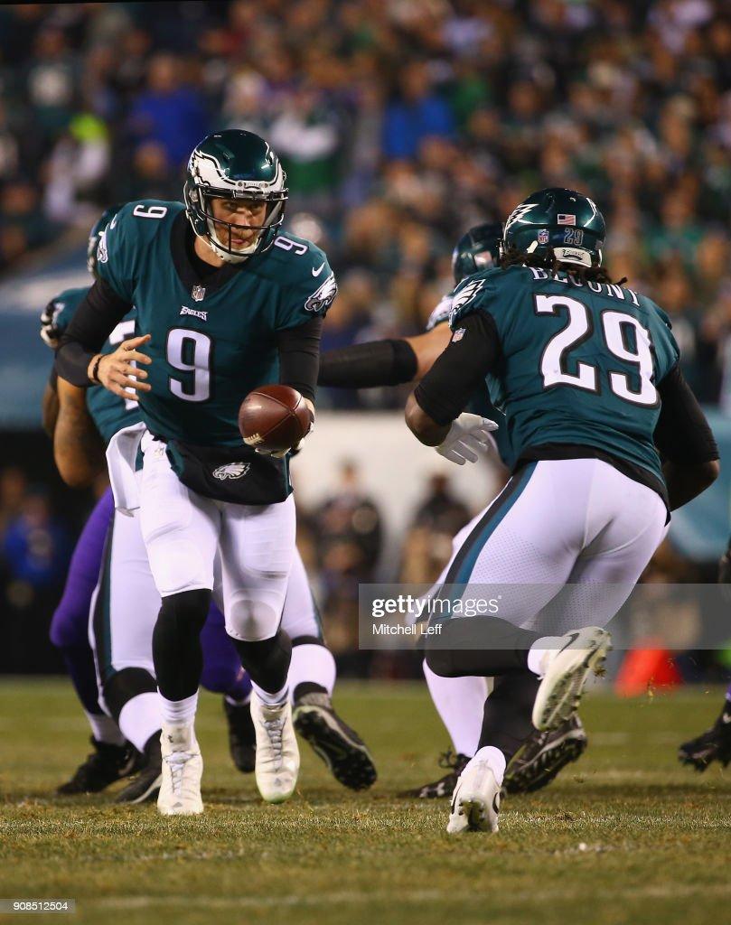 NFC Championship - Minnesota Vikings v Philadelphia Eagles : News Photo