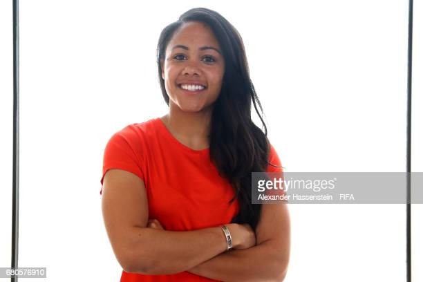 Legend Alex Scott of England poses after a interview at The Diplomat Radisson BLU Hotel on May 9 2017 in Manama Bahrain
