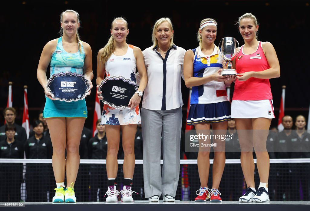 BNP Paribas WTA Finals Singapore presented by SC Global - Day 8 : Foto di attualità