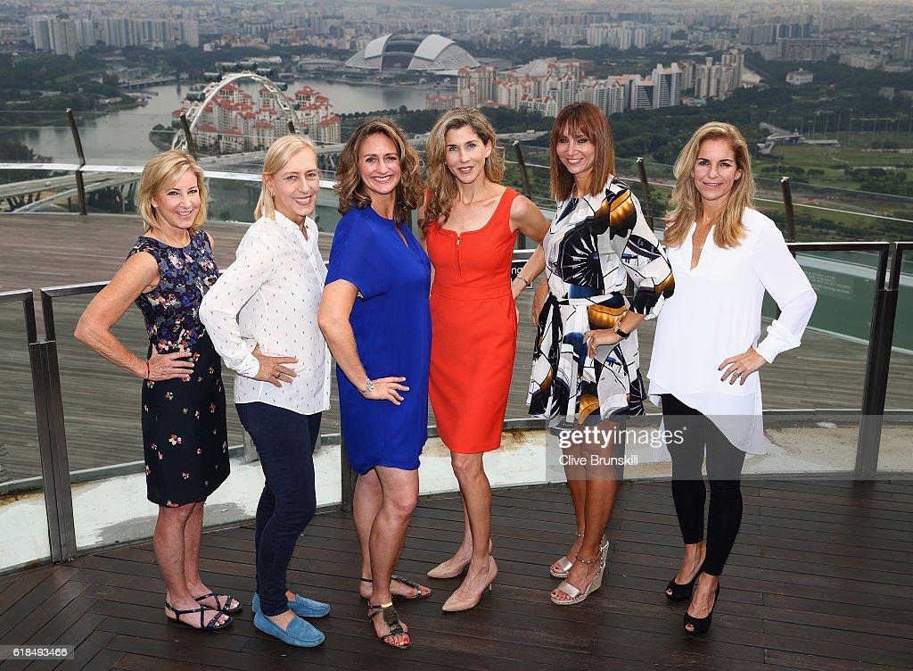 BNP Paribas WTA Finals: Singapore 2016 - Day Five : ニュース写真